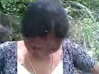 Seksowne hinduskie telugu aunty z jej bf