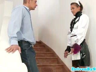 Eurobabe amirah adara facialized 如 一 女傭