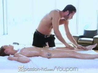 Passion-hd - geölt massage mit kacy lane und danny mountain