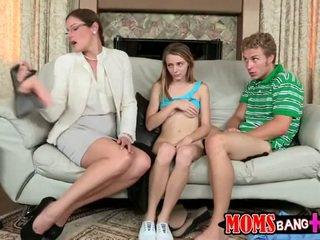 Najstnice banged s mama
