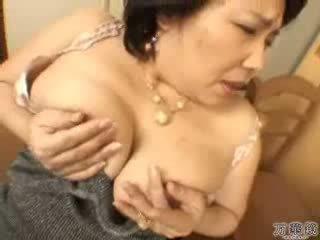 اليابانية, استمناء, ناضج, الأم