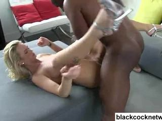 Emily Austin has her pussy destroyed by Mandingo Video