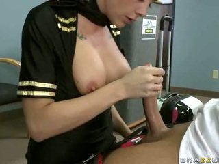 Tettona airline hostess