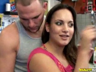 Hot ass latina accepts fat cock from behind