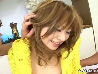 AvidolZ: Japanese slut fucked by two horny guys