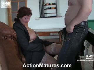 Viola And Peter Raunchy Mature Performance