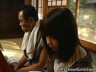 Haru Sakuragi Asian Schoolgirl Has Sex