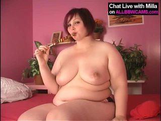 Lollypop で 大きな美しい女性 プッシー, yummy 1