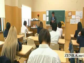 big Titty invisible Japan College Girl teen Naked in school