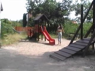 Petite Latina Teen gets fucked in the Playgrounds