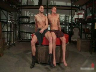 Phenix 和 trent 在 很 outlandish 同性戀者 色情 thralslavemaster 13 由 boundpride