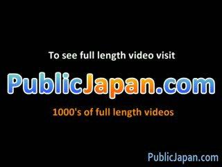 Ai Sayama oriental doll likes public