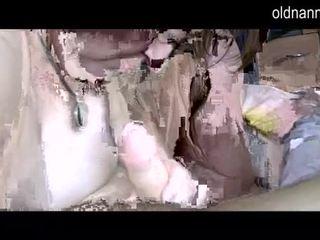 Apaļas grannny un resnas pieauguša nepieredzējošas viens loceklis video