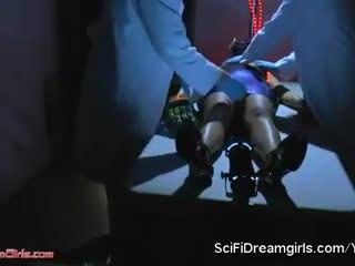 Scifidreamgirls fembot sex cu ashley fires. episode #4: hrx 0070 corp sensory încercare