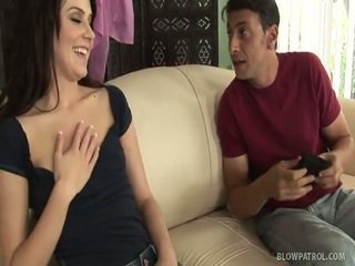 see brunette more, quality blowjobs watch, sucking full