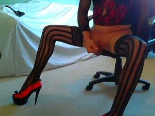 Leg and Hard Cock Tease!!