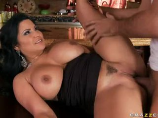 Sophia Lomeli Chick Mount With Hunk's Boner On Table