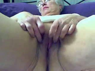 webcam, granny, fat