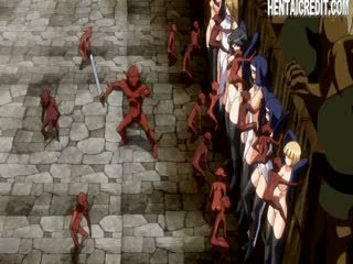Hentai punca molested s pošast
