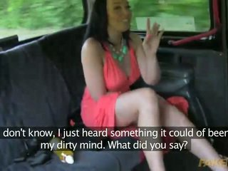 Horny MILF seduced by her taxi driver