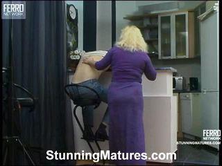 Rosemary e oscar eccentrico anziano azione