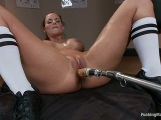Phoenix Marie Has Ass Bumped By Toy Device