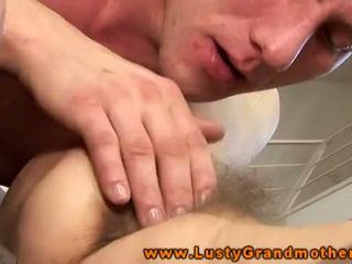 GILF mature amateur hairy pussy pounded
