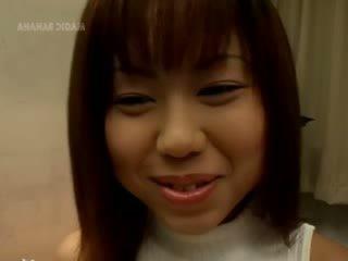 Sweet chick korean Tokyo girl fingered