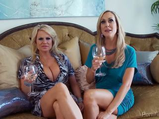 Awesome TV show with astonishing MILFs.