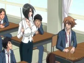 student, japanse, spotprent