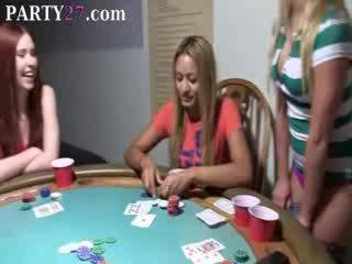 babe babes fucking on poker night