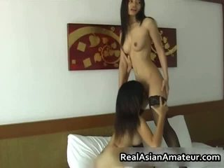 Sexy Dildoing Asian Darlings