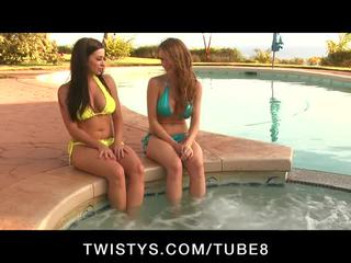 Emily addison and taylor vixen have a great bayan session