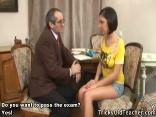 Smutty Nelly Passes Her Exams Naked.