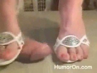 Sega con le scarpe