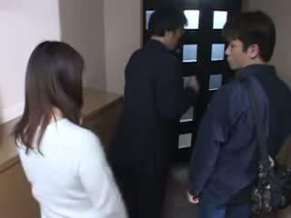 Japanese Mom Caught Her Husbands Masturbate Video