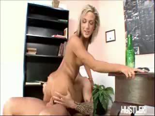 Kara novak jumps на a пеніс