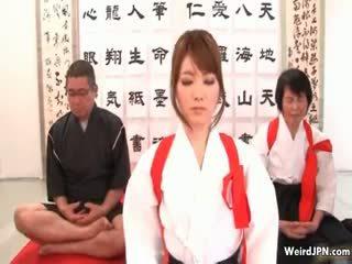 Manis jepang karate babe diperlakukan tidak baik part6