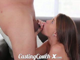Casting couch-x georgia peach excited til gjøre porno til $