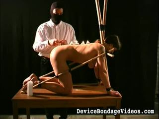 Suspended, stretched 和 humiliated