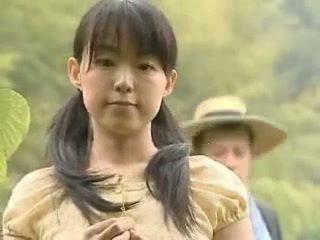 Japonesa chica follada fuera
