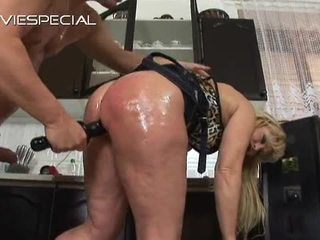 Mature Lady Has Butt Hole Bumped