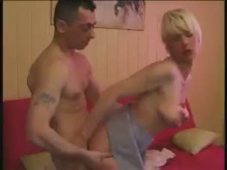 Hot French Blonde Anal Video