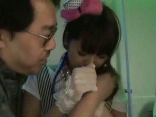 Ázsiai aranyos japán lányok él vid