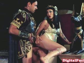 Egyptian babe sucking and fucking hard