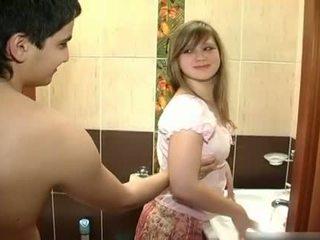 Novo par fukanje v the kopalnica