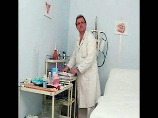 Helga Gyno Muff Pie Speculum Scrutiny Onto Gynochair At Kinky Clinic
