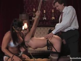 Amber Rayne And Isis Love Have Erotic In A Sexy Masochism Vid