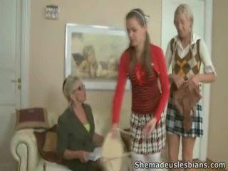 Mrs. hudson pets springy chest ng tinedyer coeds natasha at karina.
