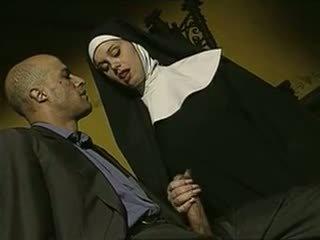 сексуальний, противний, італійська, nuns
